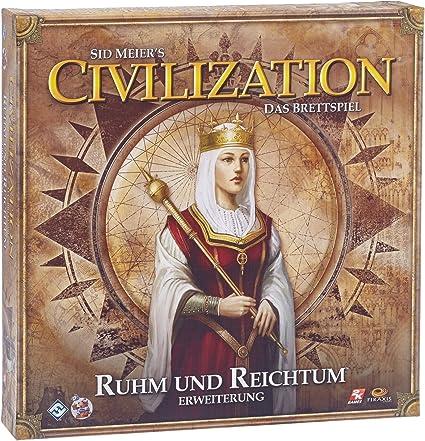 Heidelberger Spieleverlag HE428 - Civilization: Ruhm und Reichtum, Pack de ampliación del Juego de Mesa [Importado de Alemania]: Amazon.es: Juguetes y juegos