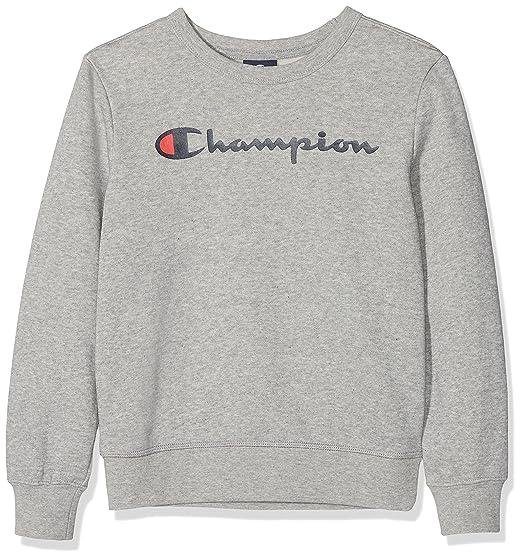 meilleure sélection de large sélection 100% de qualité Champion Crewneck Sweatshirt Sweat-Shirt Garçon: Amazon.fr ...