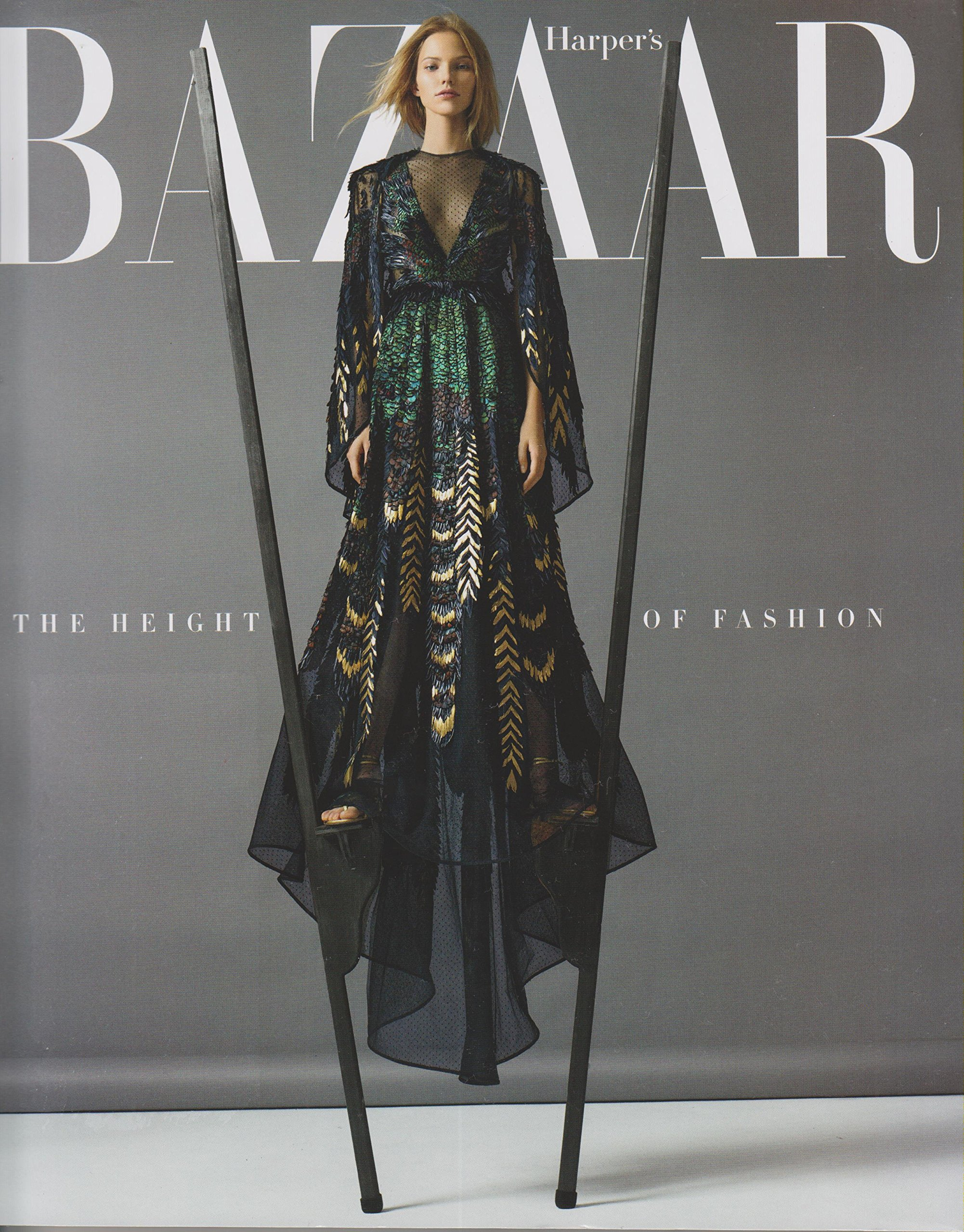 Download Harper's Bazaar November 2015 The Height of Fashion PDF
