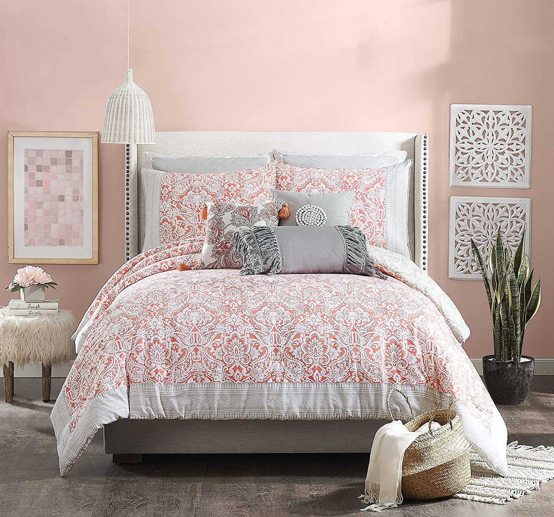Jessica Simpson Coral Gables Comforter Set, Full Queen,