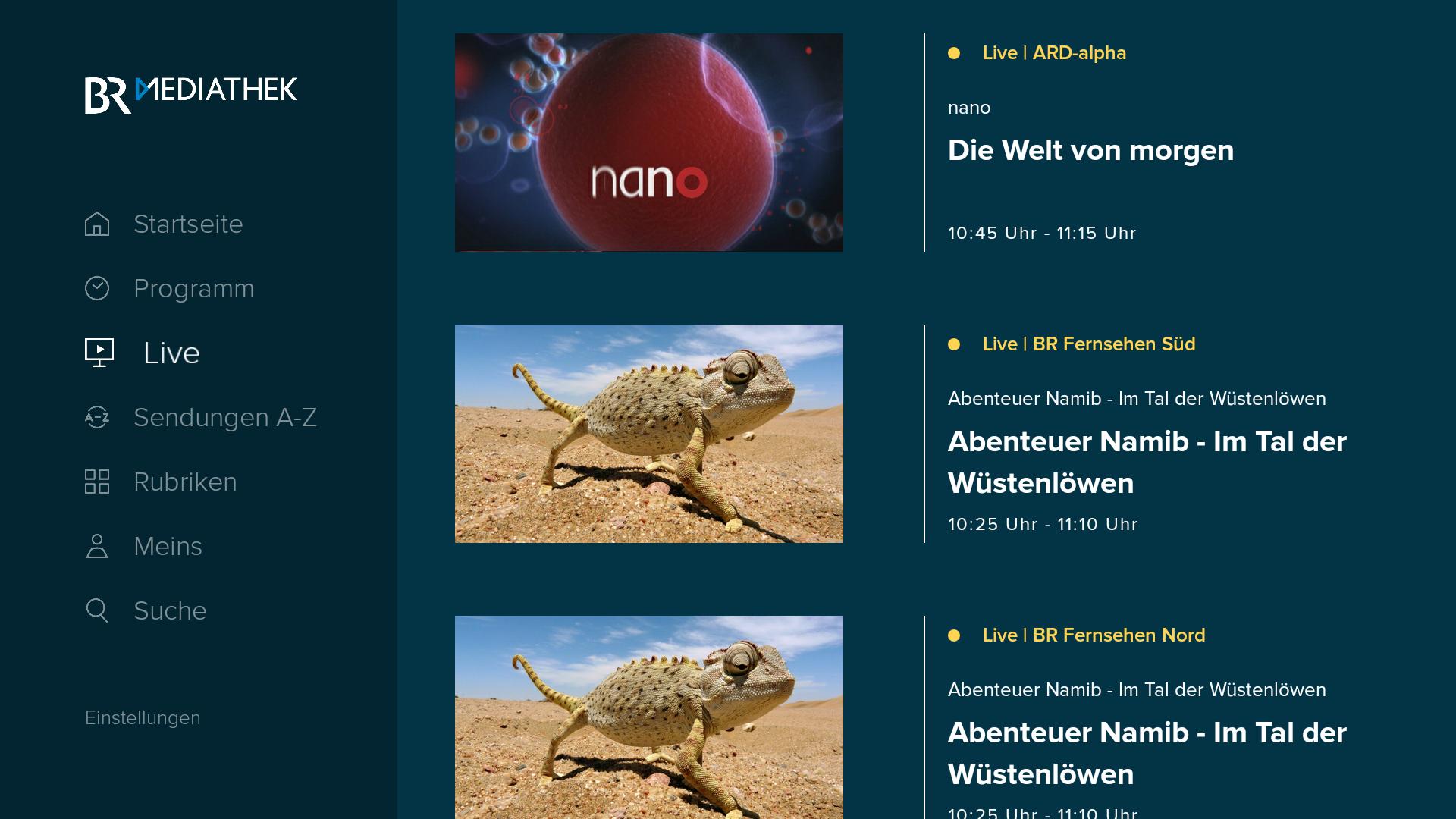 Bayrisches Fernsehen Mediatek