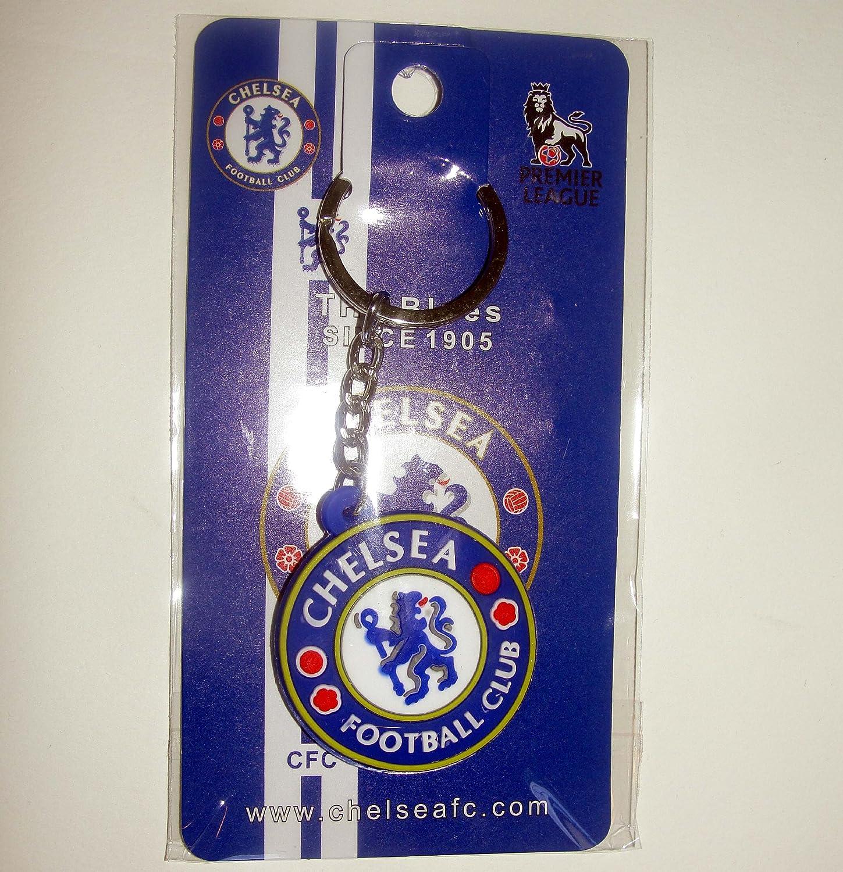 Amazon.com: Chelsea FC – Goma logotipo de fútbol llavero ...