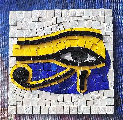 Amazon.com: The Eye of Ra / Horus - Mosaic craft kit - Original gift ...