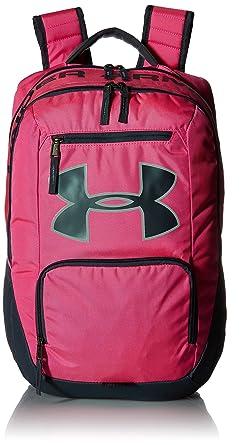 0c0f5fe7ac Amazon.com | Under Armour Unisex UA Big Logo Backpack Rebel Pink ...