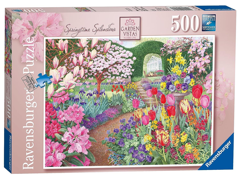 Ravensburger Ravensburger Garden Vistas Vistas No 1, Springtime Splendour 500pc Jigsaw Splendour Puzzle B01ALXO542, YOU:4d4e2e93 --- sharoshka.org