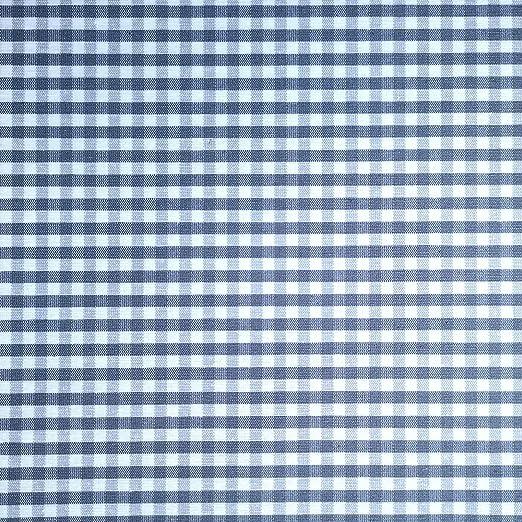 Staabs - Tela decorativa de algodón con revestimiento de cuadros ...