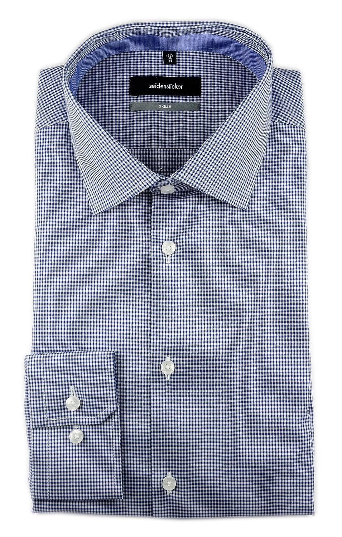 Seidensticker -Camisa de Oficina Hombre