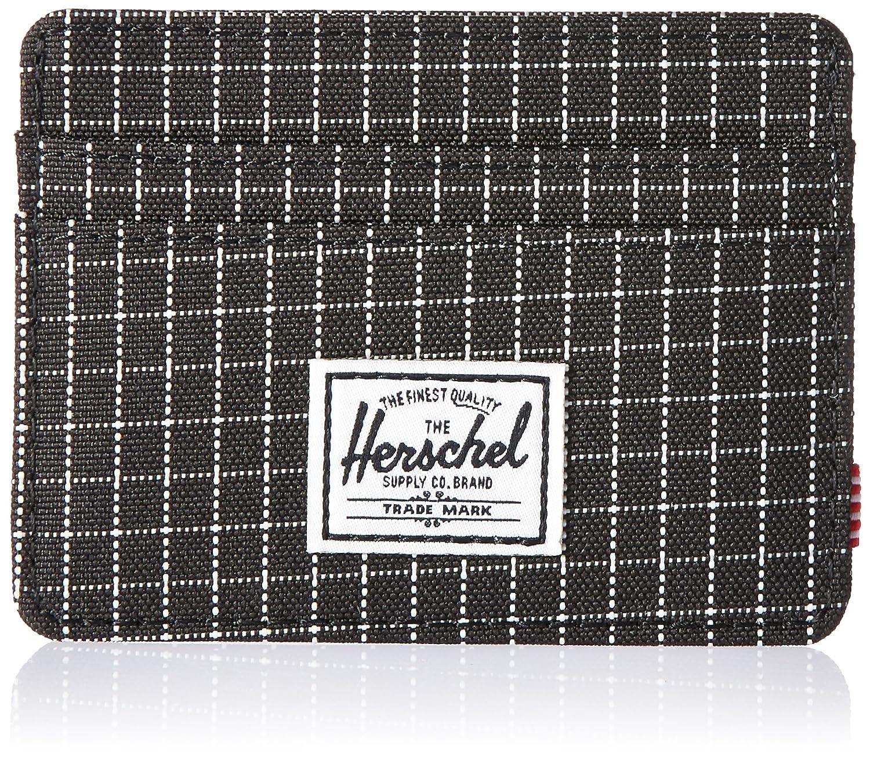 Herschel Charlie RFID Black Grid: Amazon.es: Equipaje