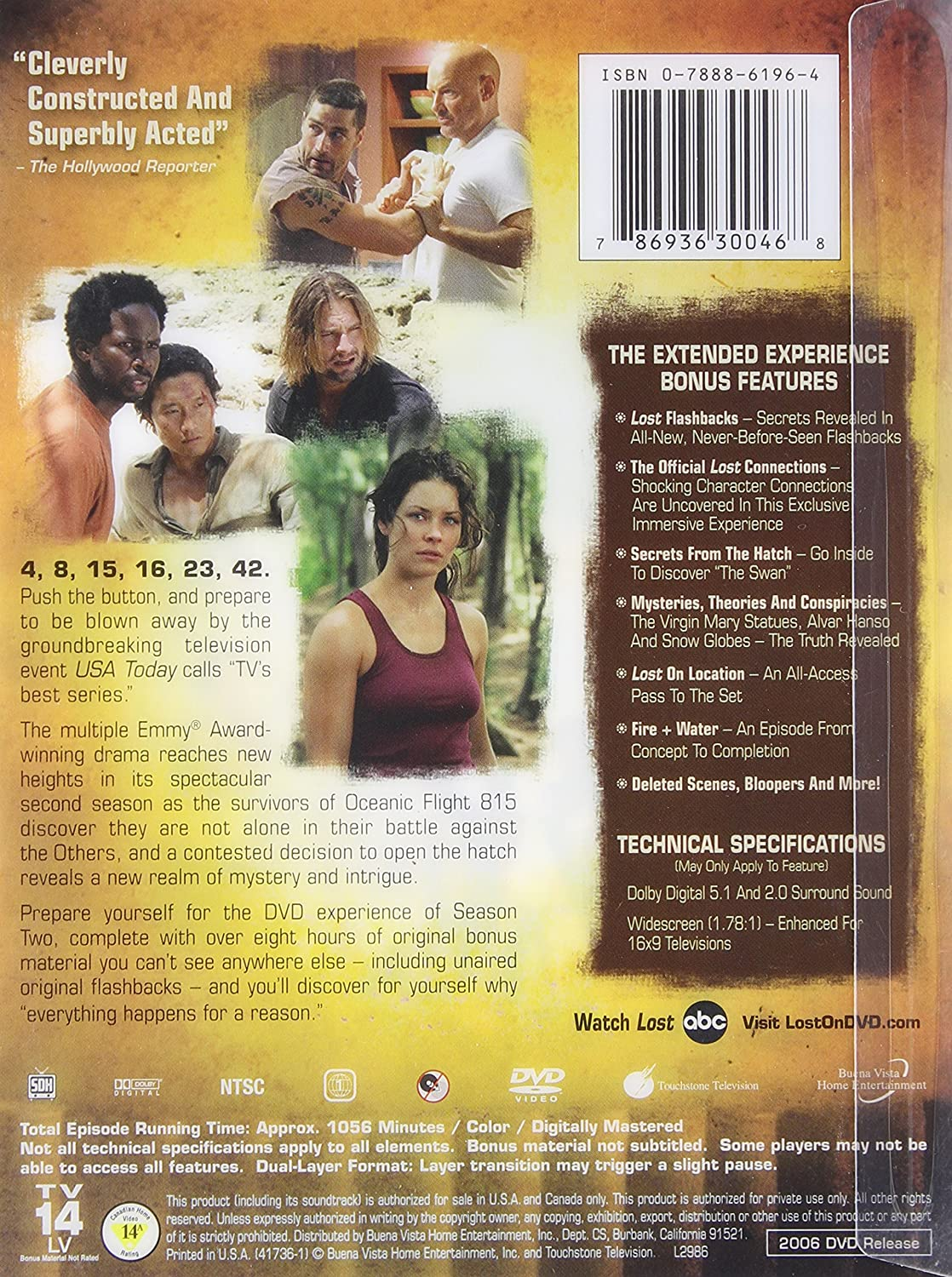 Lost: The Complete Second Season - The Extended Experience: Amazon