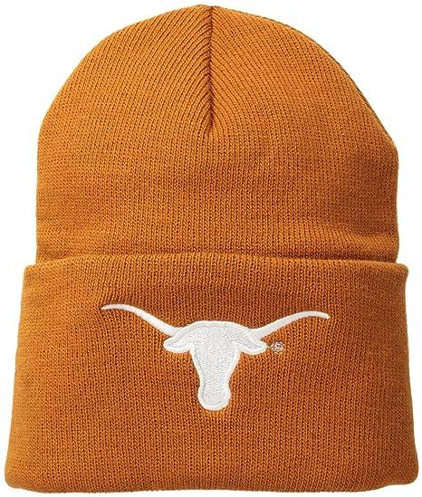 e2499a7cf87e6 Amazon.com   NCAA Texas Longhorns Acrylic Watch Hat