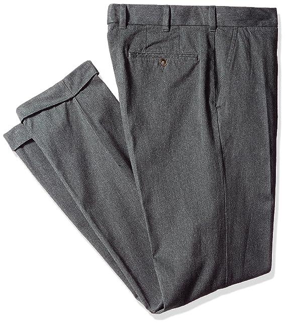 Tommy Hilfiger Hombres 78A6048 Pantalones para Vestir - Gris ...