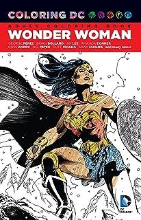 Amazon.com: DC Comics: Wonder Woman Coloring Book (9781608878925 ...