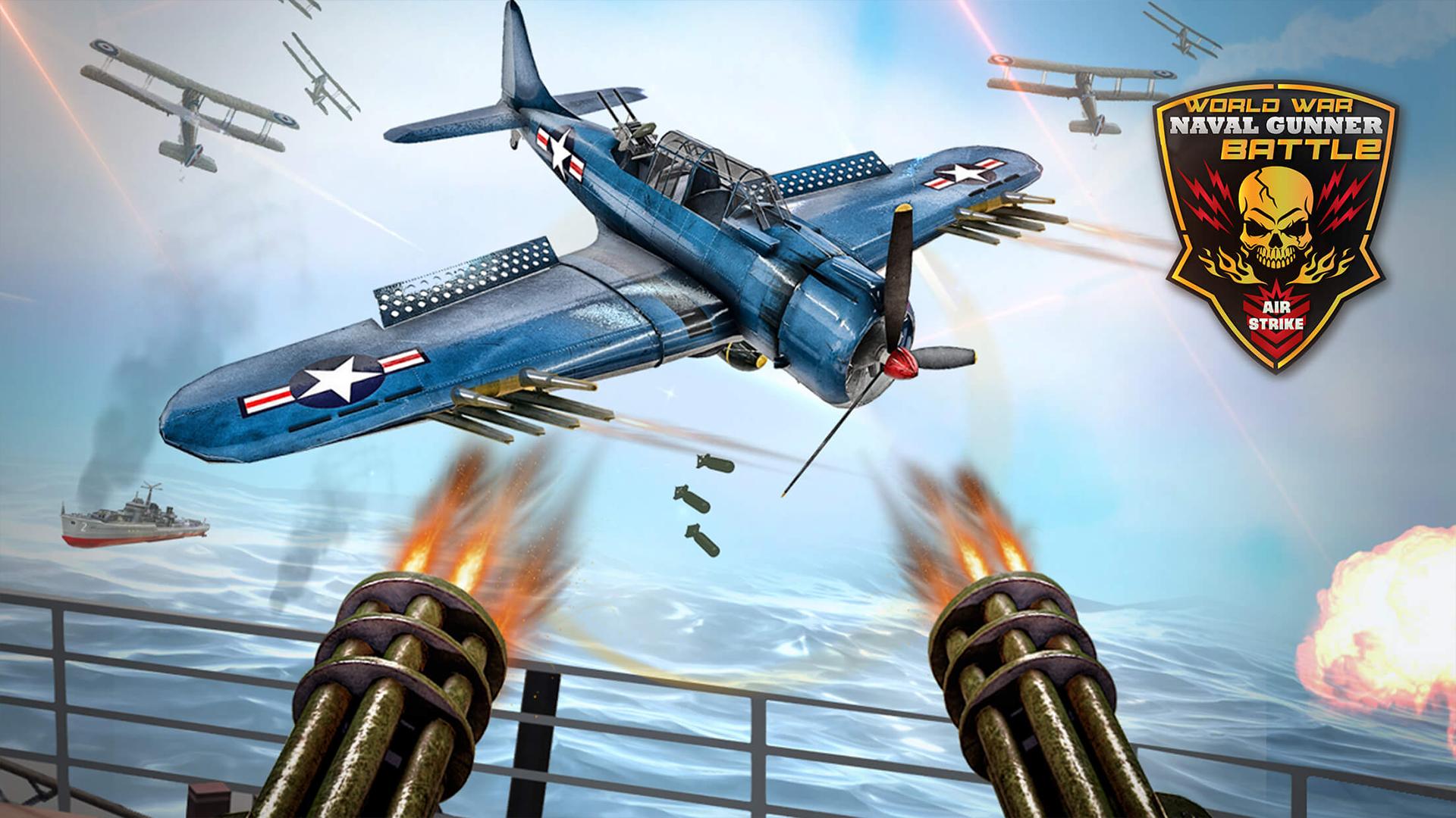 Ataque naval de la artillería naval de la Segunda Guerra