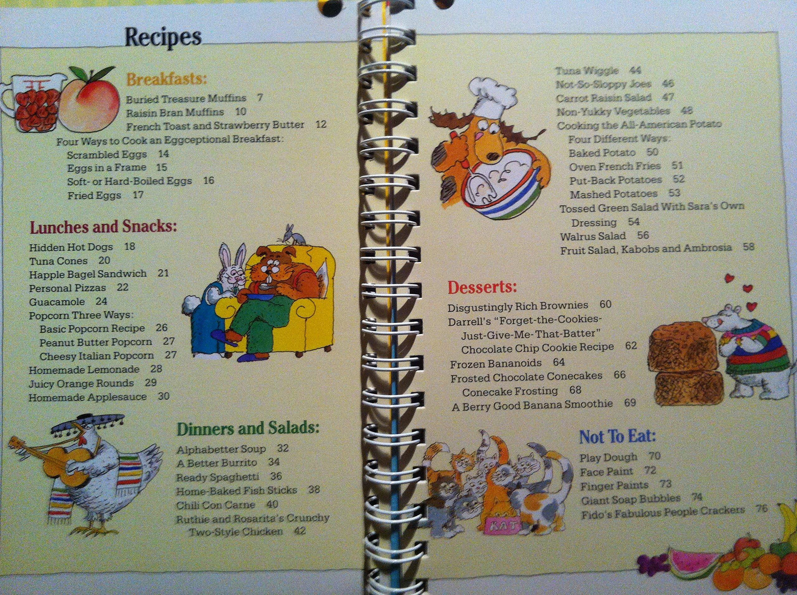 Kidscooking: A Very Slightly Messy Manual: Klutz Press, Jim M'Guinness:  9780613776462: Amazon.com: Books