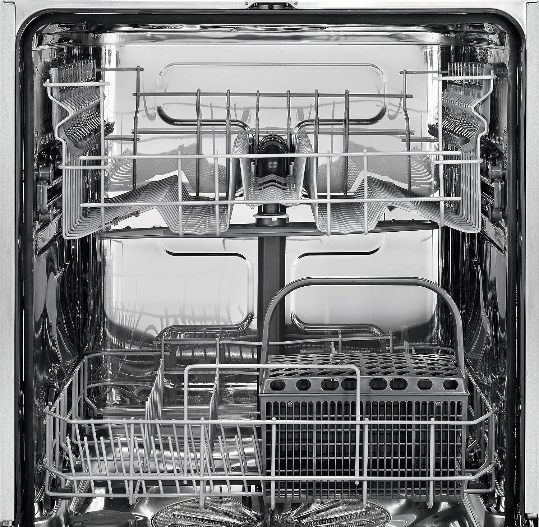 AEG Lavavajillas Parcialmente integrado acero inoxidable: Amazon ...