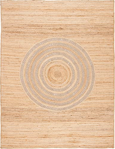 Safavieh Natural Fiber Collection NF372B Hand-woven Jute Area Rug