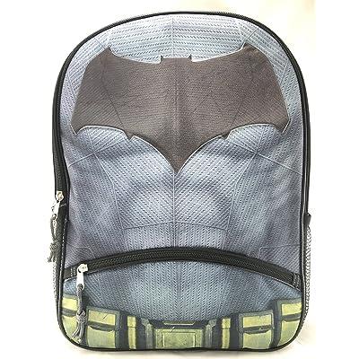 hot sale DC Comics Batman 16 Canvas Black School Backpack