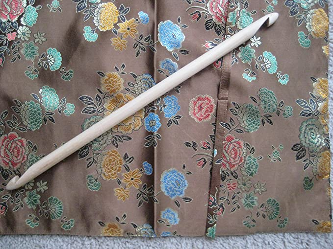 1 X ROUND SMOOTH BAMBOO CROCHET HOOK 16 SIZES FROM 2.OO MM//12.00 MM