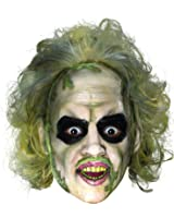 BEETLEJUICE Adult Size Costume Mask w/ Hair