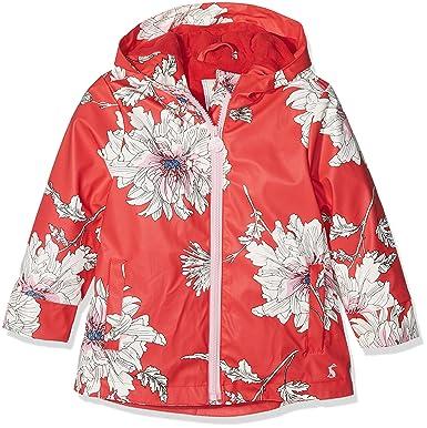 89e58fd07 Joules Toddler Girls' Raindance Rubber Rain Coat, Red Peony Print 2
