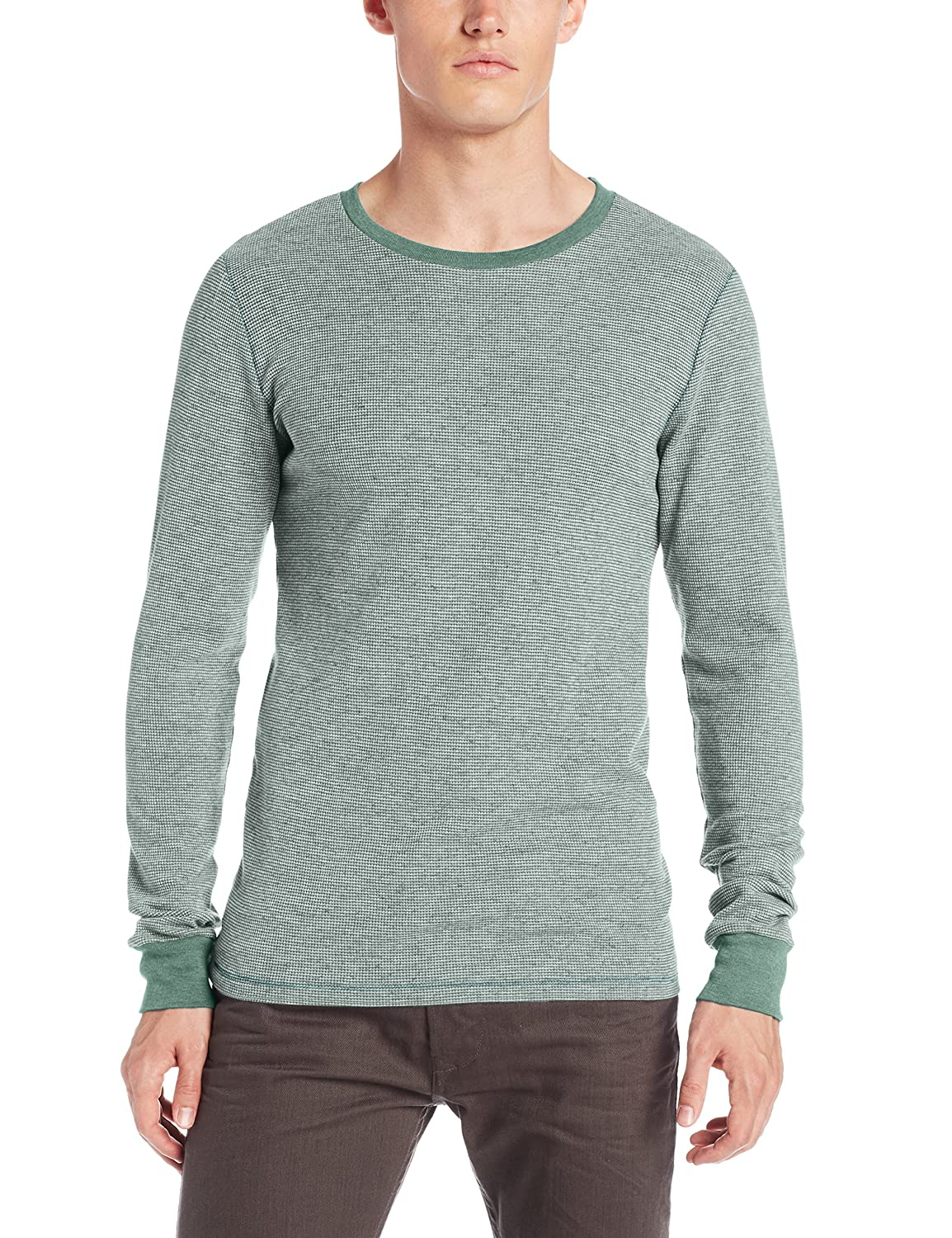 Threads 4 Thought Mens Flex Thermal Ls Crew Evergreen XX-Large Threads 4 Thought Men/'s Apparel TM02900