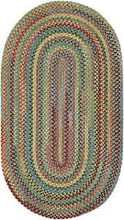 "product image for Capel High Rock Multi Rug Rug Size: Oval 2'3"" x 4'"