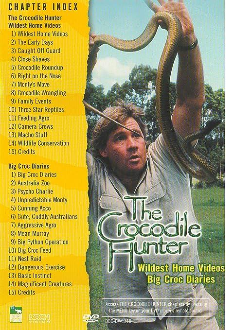 Amazon Com The Crocodile Hunter Wildest Home Videos Big Croc