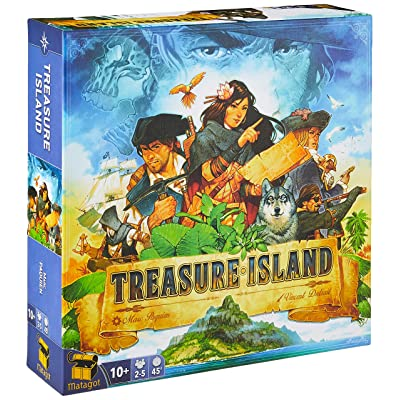 Matagot TRI01 Treasure Island, Multicolor: Toys & Games