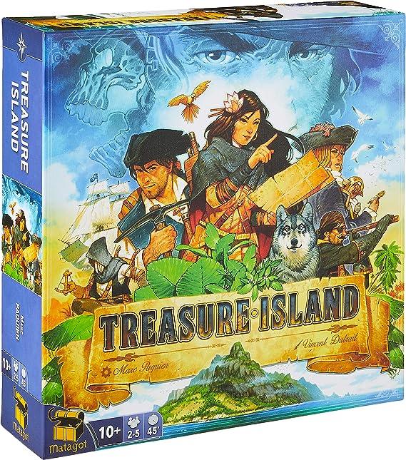 Matagot MTGISLE001 Treasure Island: Amazon.es: Juguetes y juegos