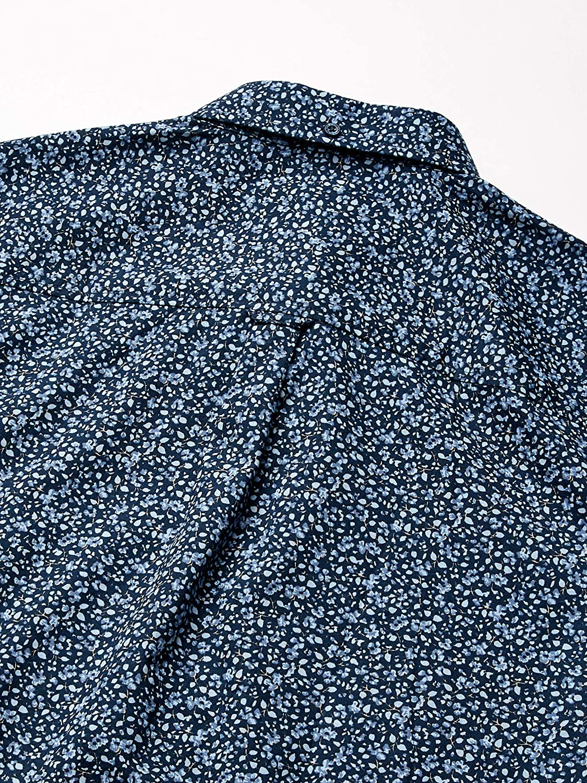 Ben Sherman Mens Ls Tonal Florl PRNT Shirt