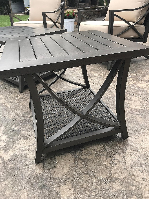 Amazon com agio davenport 6 piece patio conversation set garden outdoor