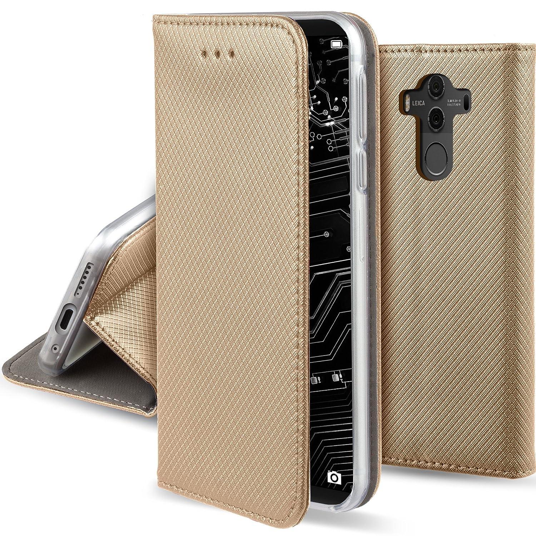 驚きの安さ Huawei Pro、Moo Mate 10 B07BF792JV Pro、Moo - Moozyケースフリップカバー折りたたみスタンド付きスマート磁気フリップケース 10 B07BF792JV, シャナグン:026ea62f --- movellplanejado.com.br