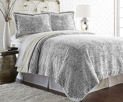 Amazon Amrapur Overseas Faux FurSherpa Reversible Throw Gorgeous Luxury Throw Blanket By Amrapur