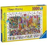 Ravensburger Rizzi: Times Square Puzzle 1000pc,Adult Puzzles