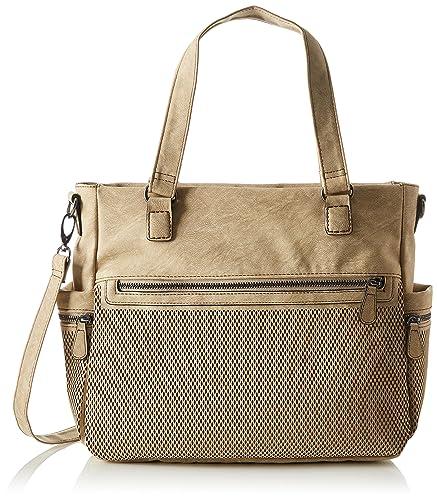 4cefa4ab308ac s.Oliver (Bags) Damen Shopper Henkeltasche Beige (Beige)