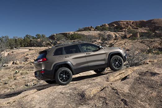 Jeep Grand Cherokee Trailhawk Poster