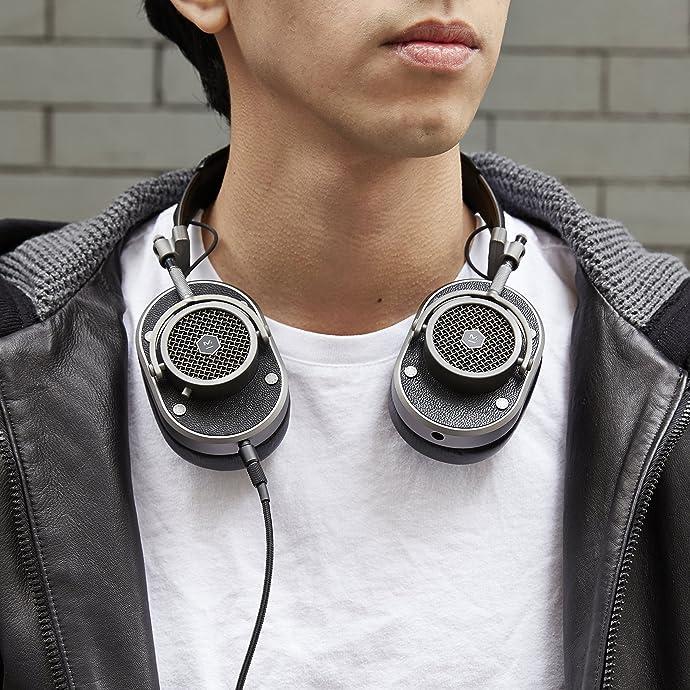 贝克汉姆同款 Master & Dynamic 动感大师 MH40 带麦 头戴式耳机 4折$159.3 海淘转运到手约¥1221