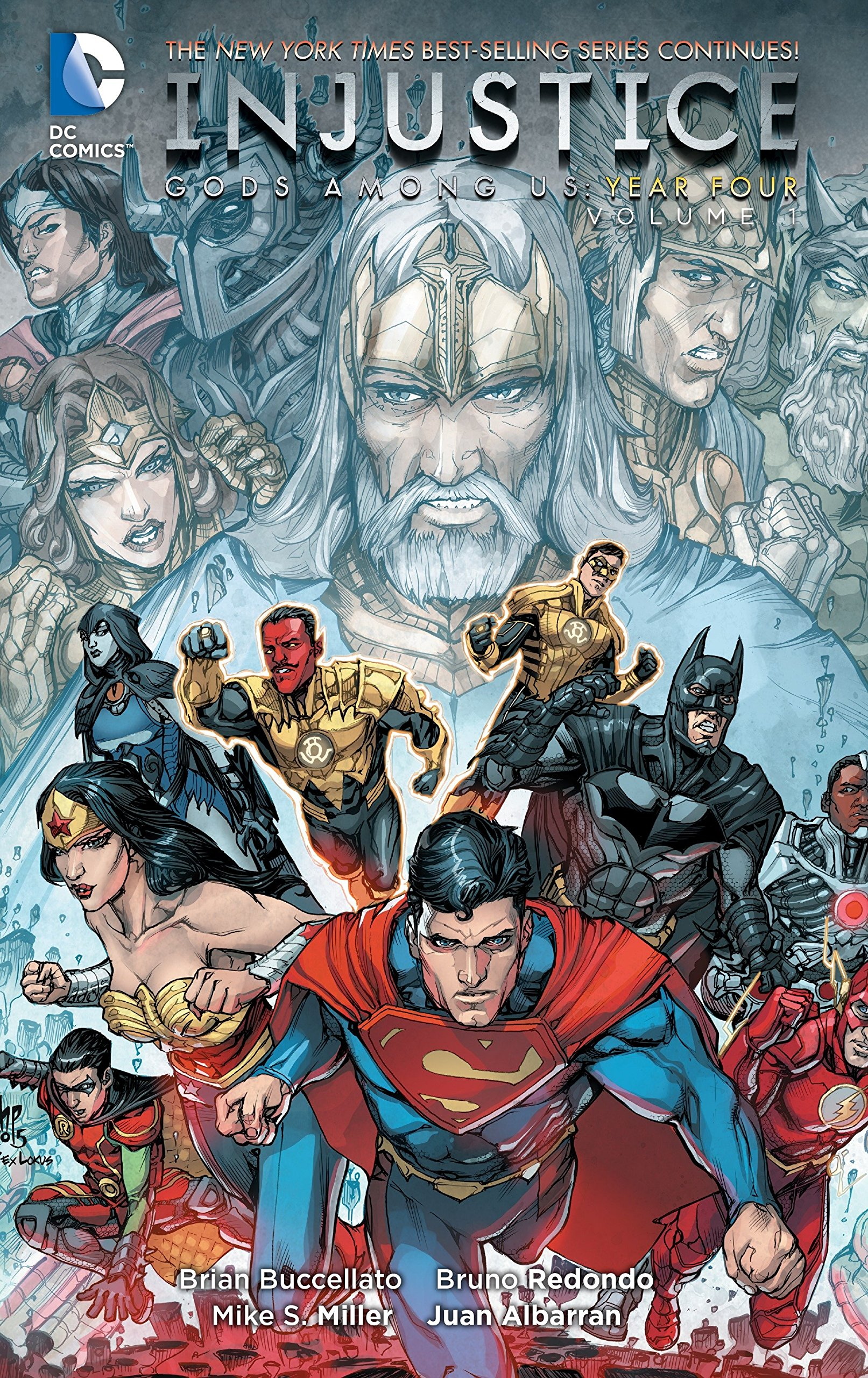 Injustice: Gods Among Us: Year Four Vol. 1 by imusti