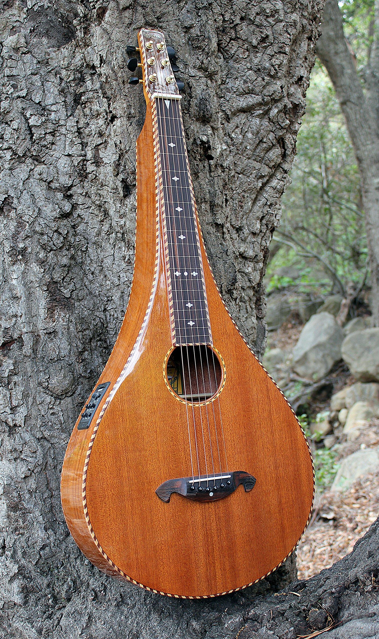 Imperial Royal Hawaiian Limited Edition Teardrop Weissenborn Style Lap Steel Guitar