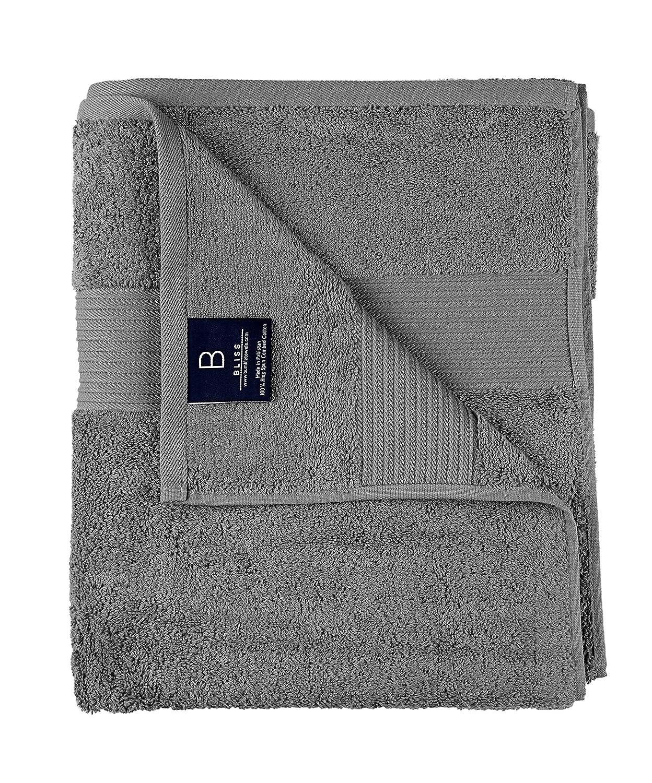 Bumble Towels Algodón Toalla De Baño Paquete De 2 Gris