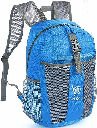Bago Lightweight Backpack. Waterproof Collapsible Rucksack for ...