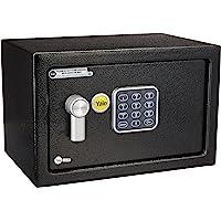Yale YSV/200/DB1 Value Compact Safe Small - Caja de seguridad electrónica, Chica, 20 x 20 x 31 cm