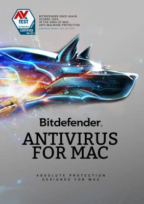 Bitdefender Antivirus for Mac | 3 Mac, 1 Year | Download [Online Code]