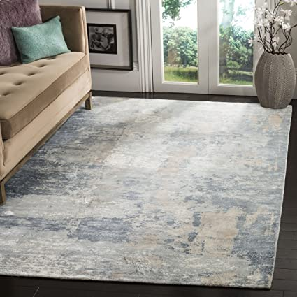 Amazoncom Safavieh Mirage Collection Mir725b Ivory And Grey Area