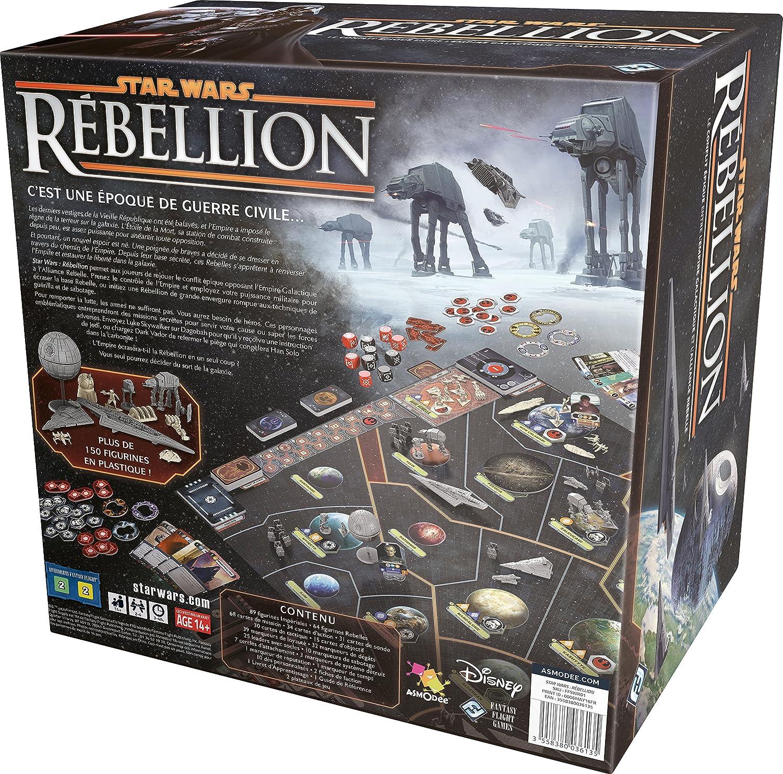 Asmodee – ffswr01 – Star Wars – Rebelión: Amazon.es: Juguetes y juegos