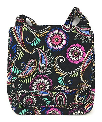 Amazon.com  Vera Bradley Mailbag Cross-body (Bandana Swirl with ... 27d41e35f8