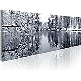 Cuadro en Lienzo 120x40 cm! 1 parte - Impresion en calidad fotografica - Cuadro en lienzo - una pieza 9050028 120x40 cm B&D XXL