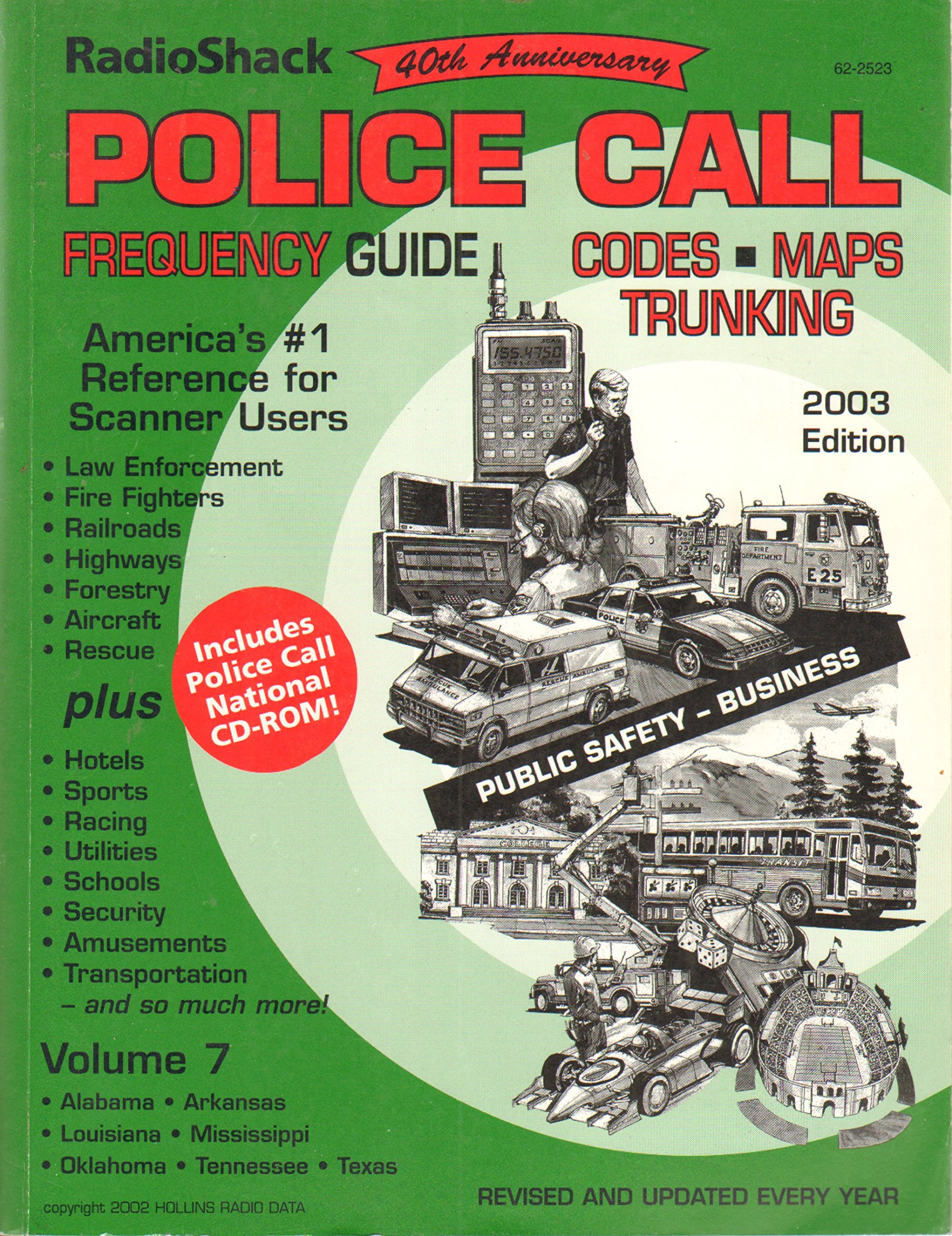 Police Call Frequency Guide (Codes, Maps, Trunking) (Radio Shack