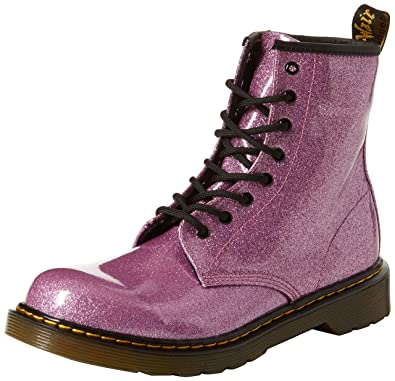 dfab91491664 Amazon.com: Dr. Martens Kid's Collection Womens 1460 Patent Glitter ...