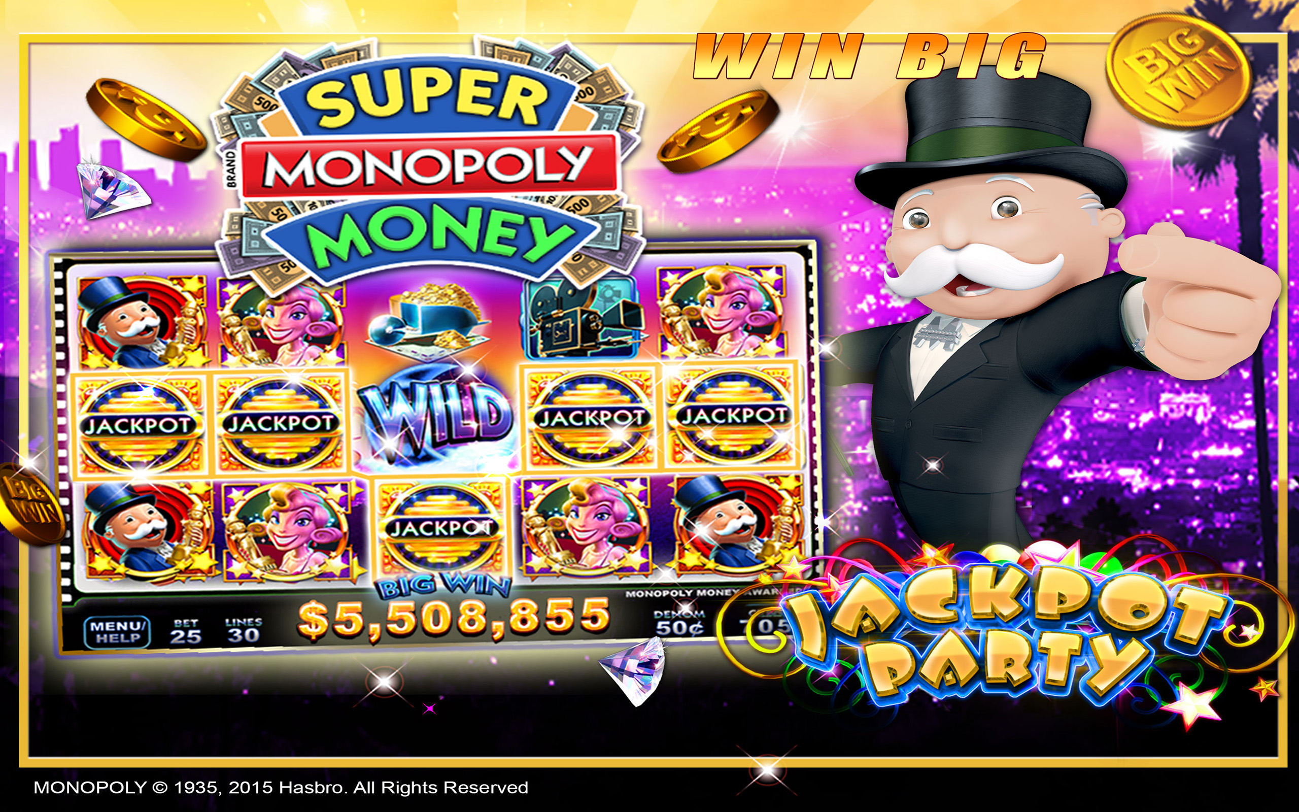 Jackpot Party Casino Games – Free Pokies Games